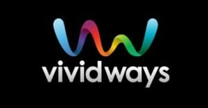 vividways gradient logo design comparingly