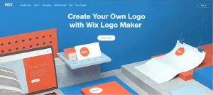 wix logo maker review logo generator process